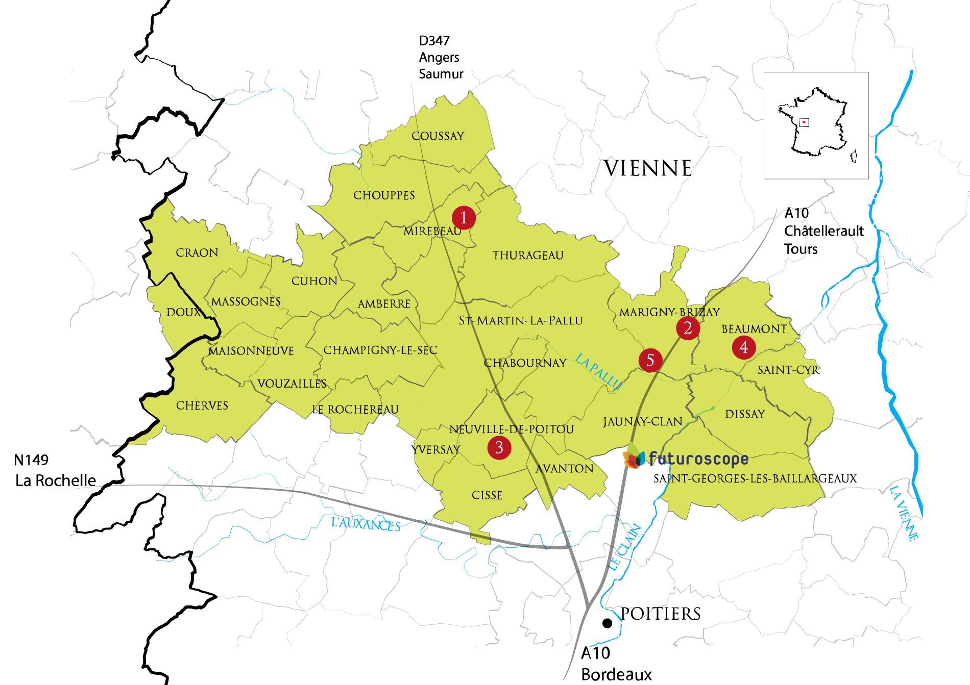 producteurs vins aoc haut poitou